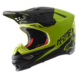Alpinestars Supertech M8 Echo MIPS Helmet Black/Yellow