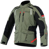 Alpinestars Andes V2 Drystar Jacket Military Green/Black/Red