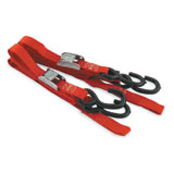 Ancra Classic Tie Downs w/Nylon Straps Red