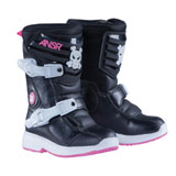 Answer Racing Prodigy Pee Wee Boots Black/Pink