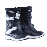 Answer Racing Prodigy Pee Wee Boots Black/White