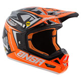 Answer Racing Evolve 4 17.5 MIPS Helmet Black/Grey/Orange