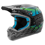 Answer Racing AR3 Haze Helmet Grey/Blue