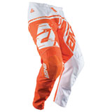 Answer Racing Youth Syncron Air Pant White/Orange