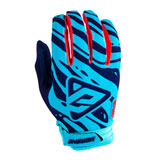 Answer Racing AR3 Gloves 2019 Astana/Indigo/Bright Red
