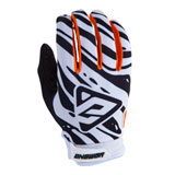 Answer Racing AR3 Gloves 2019 White/Black/Orange