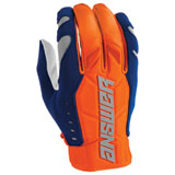 Answer Racing AR4 Gloves Orange/Midnight