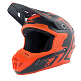 Answer Racing Youth AR1 Edge Helmet Charcoal/Flo Orange