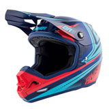 Answer Racing AR3 Charge Helmet Indigo/Bright Red