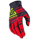 Answer Racing AR1 ProGlo Gloves Red/Black/Hyper Acid
