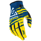 Answer Racing AR1 ProGlo Gloves Yellow/Midnight/White
