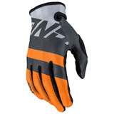 Answer Racing Youth AR1 Voyd Gloves Charcoal/Grey/Orange