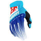 Answer Racing AR3 Korza Gloves Hyper Blue/Reflex/Red