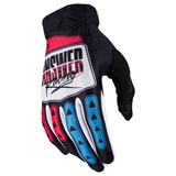 Answer Racing AR3 ProGlo LE Gloves Hyper Blue/Pink/Black