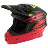 Answer Racing AR1 ProGlo Helmet Red/Black/Hyper Acid