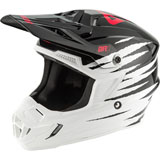 Answer Racing Youth AR1 ProGlo Helmet White/Black/Pink