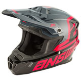 Answer Racing Youth AR1 Voyd Helmet Black/Charcoal/Pink