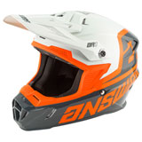 Answer Racing Youth AR1 Voyd Helmet Charcoal/Grey/Orange