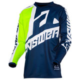 Answer Racing Syncron Voyd Jersey Midnight/Hyper Acid/White
