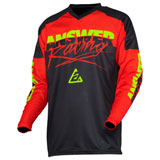 Answer Racing Syncron ProGlo Jersey Red/Black/Hyper Acid