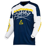Answer Racing Syncron ProGlo Jersey Yellow/Midnight/White