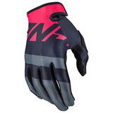 Answer Racing Youth AR1 Voyd Gloves Black/Charcoal/Pink