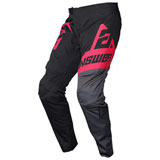 Answer Racing Youth Syncron Voyd Pant Black/Charcoal/Pink