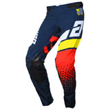 Answer Racing Elite Korza Pant Midnight/White/Pro Yellow/Red