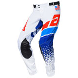 Answer Racing Elite Korza Pant White/Red/Hyper Blue/Reflex
