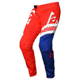 Answer Racing Youth Syncron Voyd Pant Red/Reflex/White