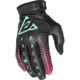 Answer Racing Youth AR1 Swish Gloves Black/Berry/Seafoam