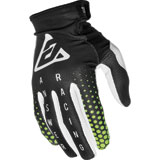 Answer Racing Youth AR1 Swish Gloves Black/Green/White