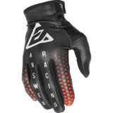 Answer Racing Youth AR1 Swish Gloves Black/Red/Silver