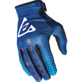 Answer Racing Youth AR1 Swish Gloves Pro Blue/Astana/Answer Red
