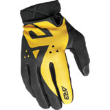 Answer Racing AR3 Pace Gloves Black/Yellow