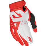 Answer Racing AR3 Pace Gloves White/Red