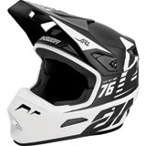 Answer Racing AR1 Bold Helmet Black/White