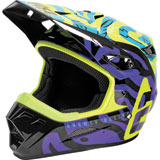 Answer Racing AR3 Hypno By Muteon Helmet Hyper Acid/Astana/Dark Purple