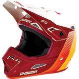 Answer Racing AR3 Pace Helmet Ghost/Berry/Orange