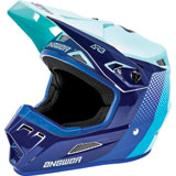 Answer Racing AR3 Pace Helmet Seafoam/Midnight/Reflex