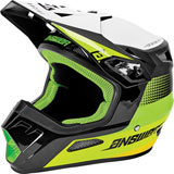 Answer Racing Youth AR1 Swish Helmet Green/Hyper Acid/White