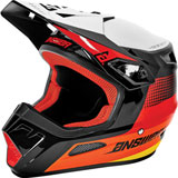 Answer Racing AR1 Swish Helmet Red/Orange/Silver