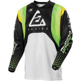 Answer Racing Syncron Swish Jersey Green/Hyper Acid/White