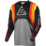 Answer Racing Syncron Swish Jersey Red/Orange/Silver