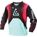 Answer Racing Women's Syncron Swish Jersey Berry/Air Pink/Seafoam
