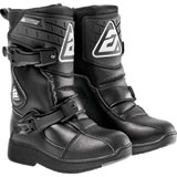 Answer Racing Youth Pee Wee Boots Black/Black