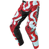 Answer Racing Youth Arkon Hypno By Muteon Pant Seafoam/Air Pink/Tar