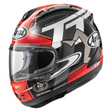 Arai Corsair-X Isle of Man Helmet Red