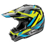 Arai VX-Pro4 Machine Helmet Black/Blue/Yellow