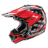 Arai VX-Pro4 Scoop Helmet Red/Black